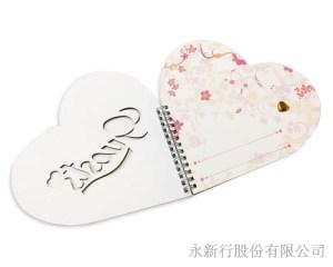金蔥心型簽名本-筆記本_66-12GB,2