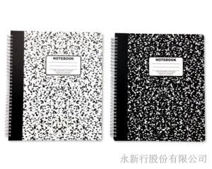 大線圈筆記本-大理石系列
