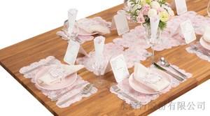 裝飾卡粉色派對商品-桌面裝飾卡,2