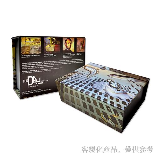 客製化達利美術館卡片信封組-卡片4圖/組,0