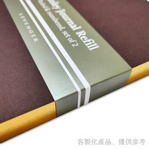 客製化燙金邊縫線筆記本-燙金邊筆記本,2