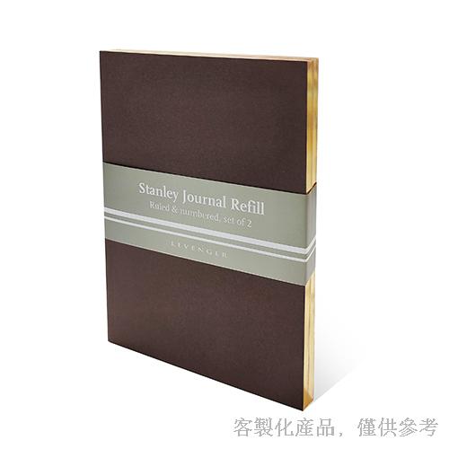客製化燙金邊縫線筆記本-燙金邊筆記本,0