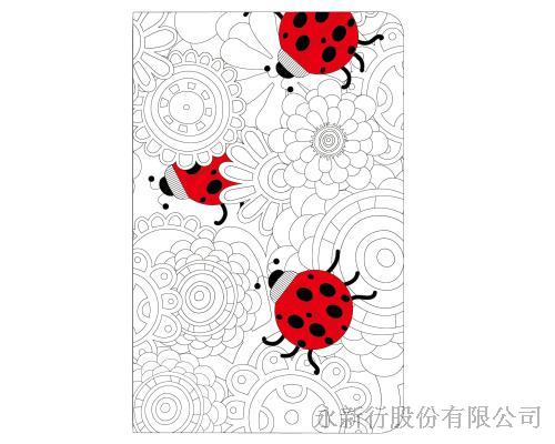 著色系列小筆記本組-筆記本74-64N,0