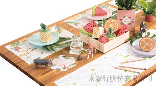 熱帶派對系列賓果餐墊-紙餐墊_85-04BP,0