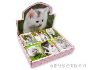 動物便條系列貓便條紙-貓便條紙M-14440,1