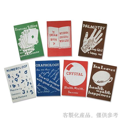 客製化知名藝術博物館卡片信封組-卡片4圖/組