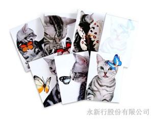動物便條系列貓-便條紙_M-14423 ,2