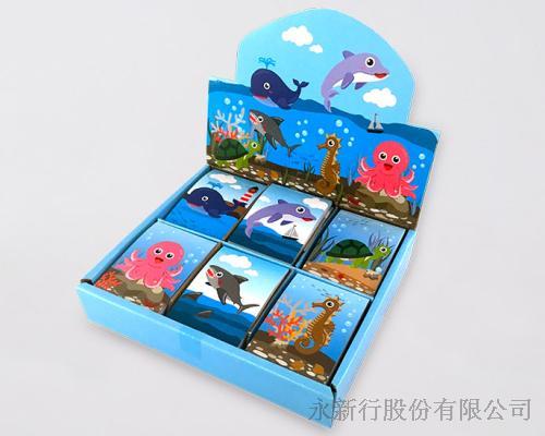 動物便條系列海洋動物-便條紙_M-14449