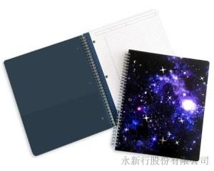 星空系列大線圈筆記本-筆記本_78-08WN,1