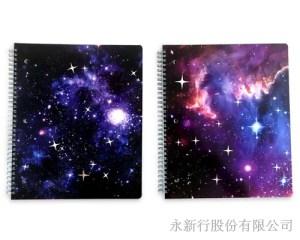 星空系列大線圈筆記本-筆記本_78-08WN,2