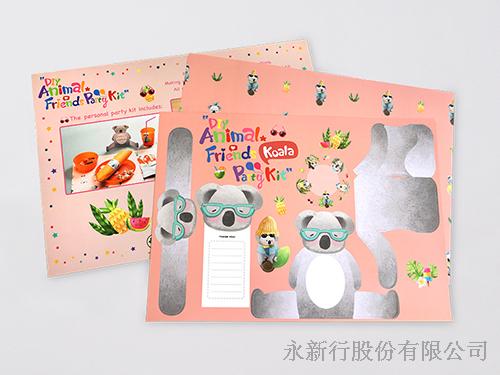 DIY動物派對組_83-04PKO-無尾熊紙餐墊