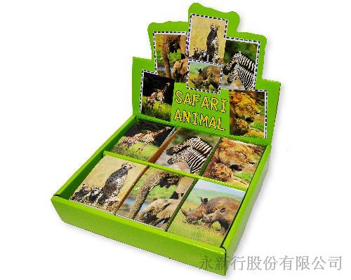 動物便條系列野生動物-動物便條紙_M-14410