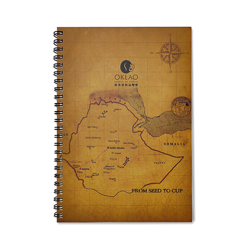 Customized Stone Paper Wire-O Bound-Notebook