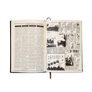 客製化印刷台南地圖精裝縫線手帳-筆記本-2