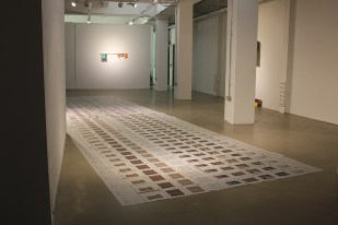 Inkjet Lament, 2014, installation
