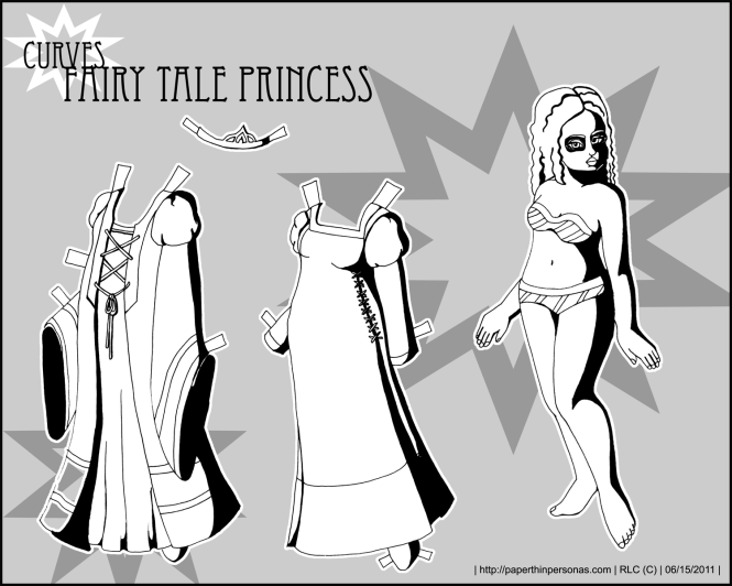 curves-fairy-tale-princess-paper-doll