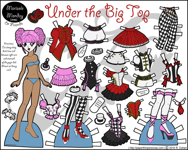 marisole-circus-paper-doll-color