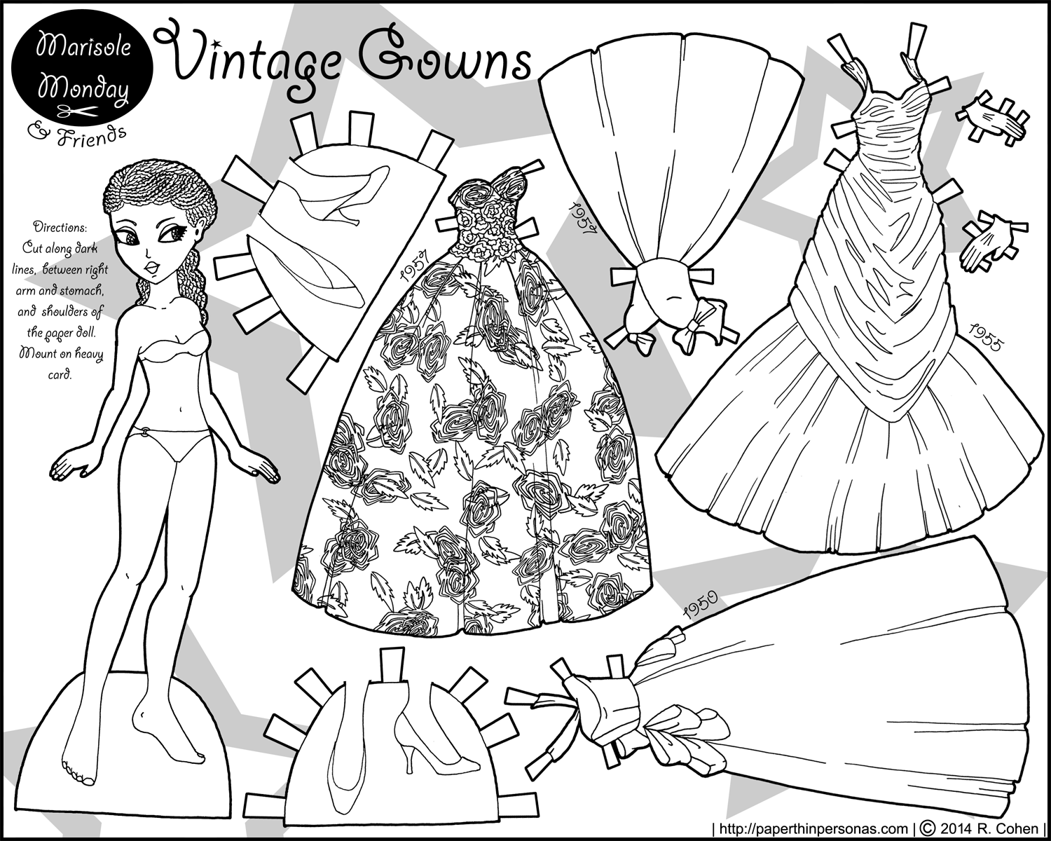 S Fashion Coloring Pages