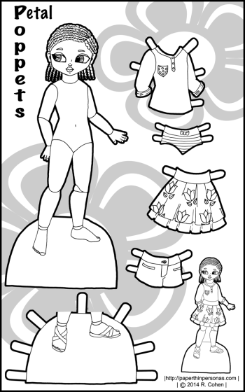 petal-bw-poppet-paper-doll
