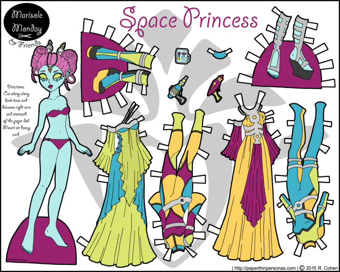 space-princess-paper-doll-color