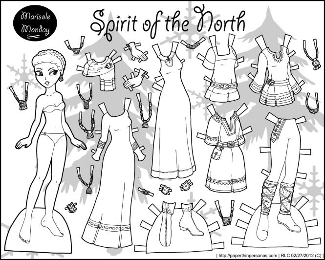 spirit_north_black_white_paperdoll