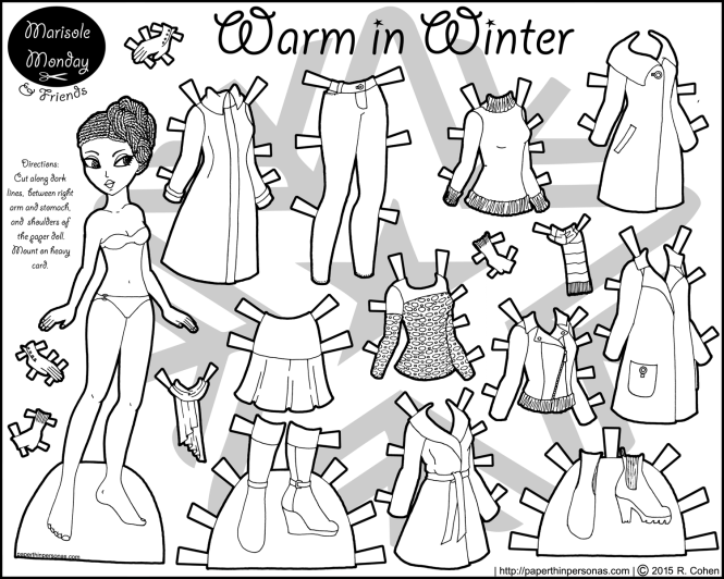 warm-in-winter-paper-doll-bw