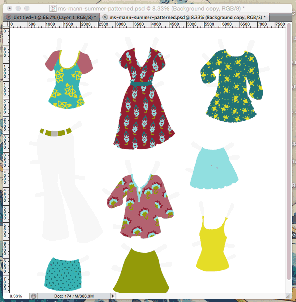 So much pattern... so much pattern...