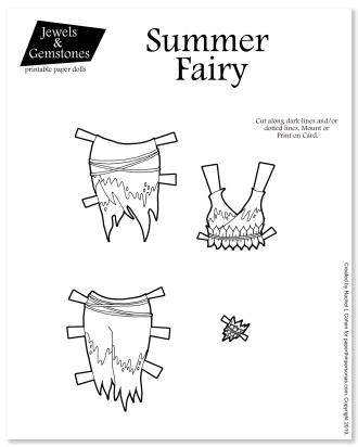 A great unplugged toy for children of all ages. A wonderful faory coloring page.