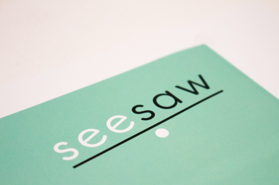 Seesaw Business Cards Logo Design