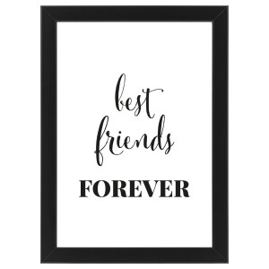 """Plakat """"Best Friends Forever"""" #023"""