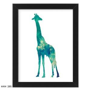Plakat zdziwiona żyrafa – #AN285