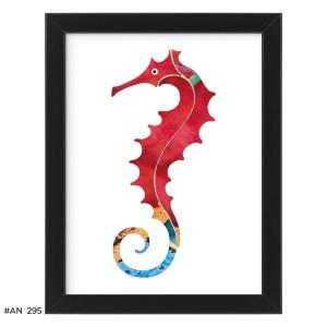 Plakat barwny konik morski – #AN295