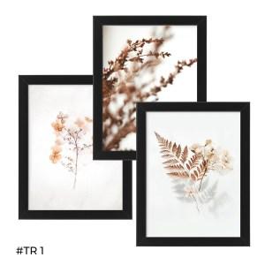 Tryptyk plakatów w ramie – Jesienne kolory – #TR 01