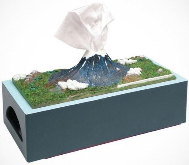mount fuji tissue holder box