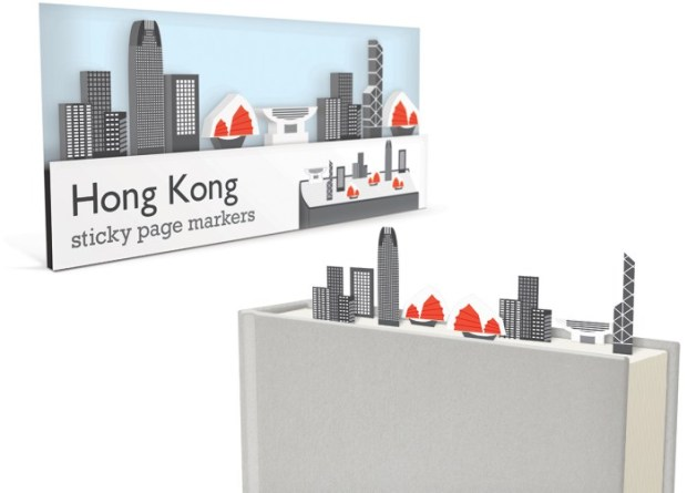 hong kong sticky page markers
