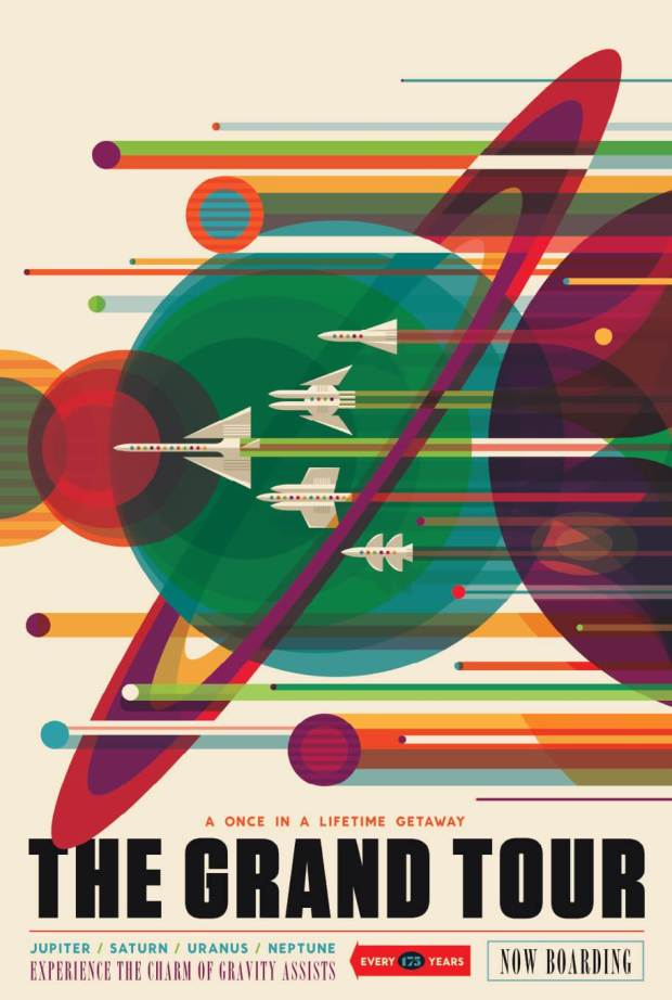 nasa space poster schools grand tour