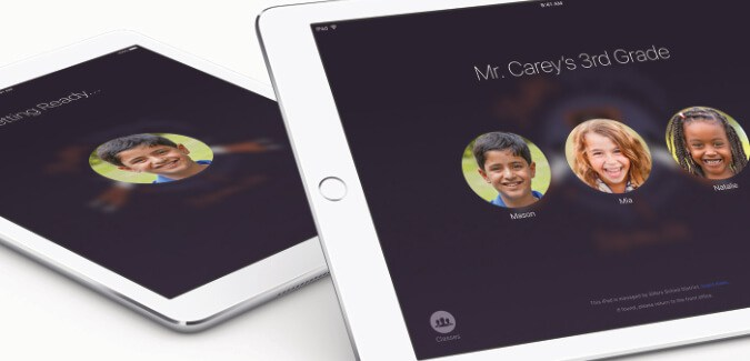 The new Classroom app from Apple for managing iPads in the classroom