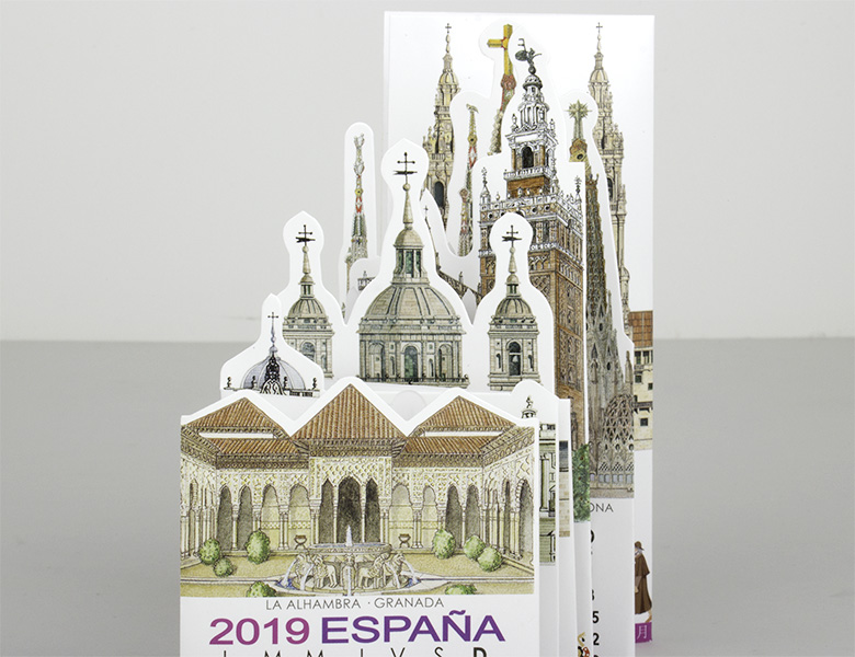 Calendario Pocket España 2019