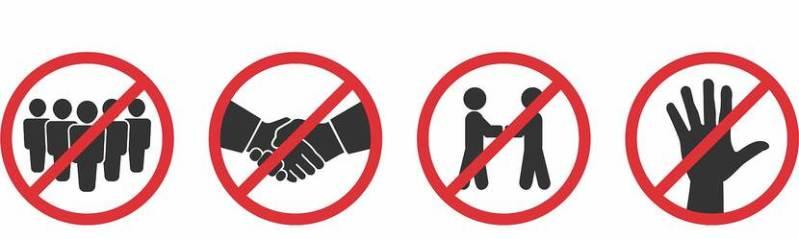 verbod op samenkomsten