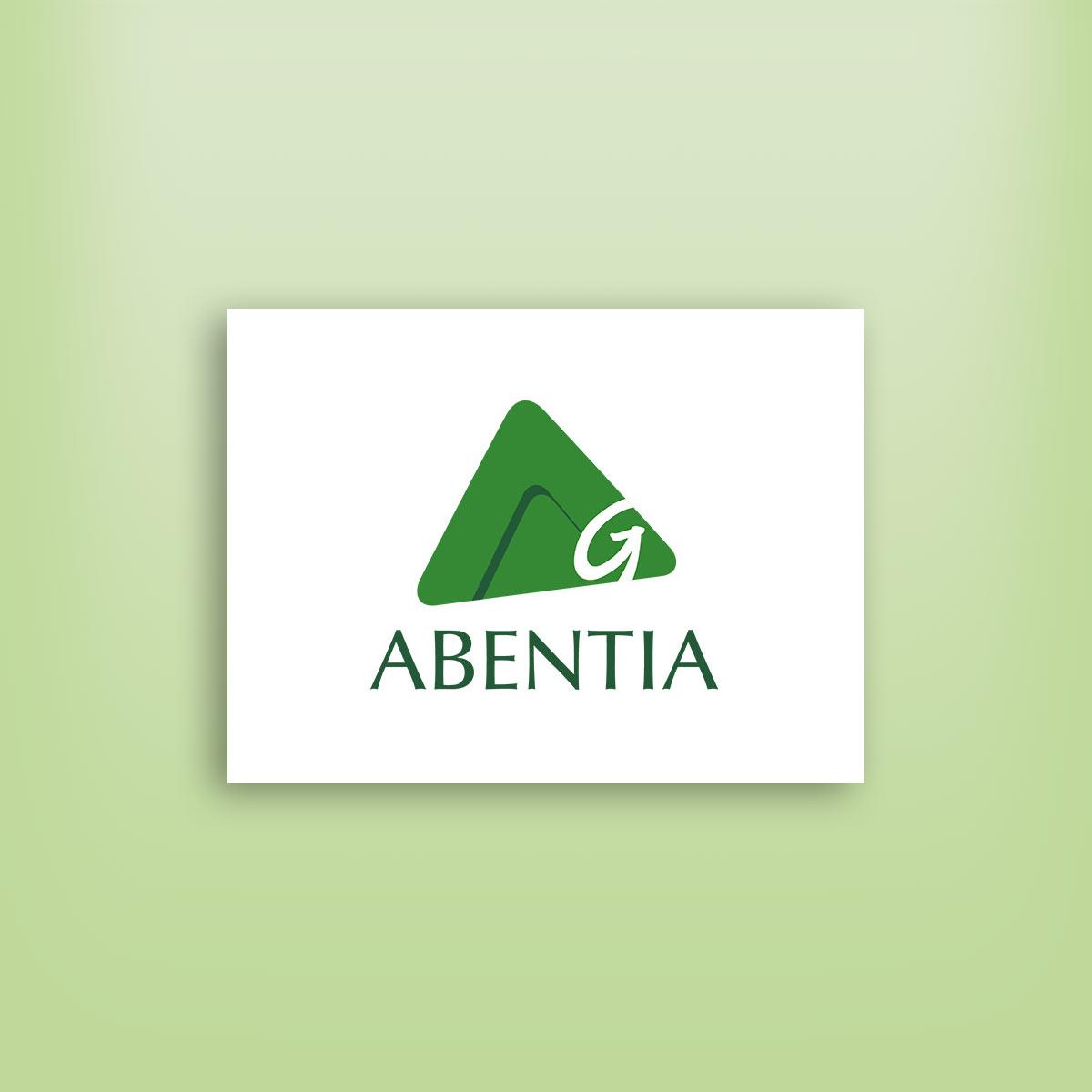 diseño de logotipo abentia