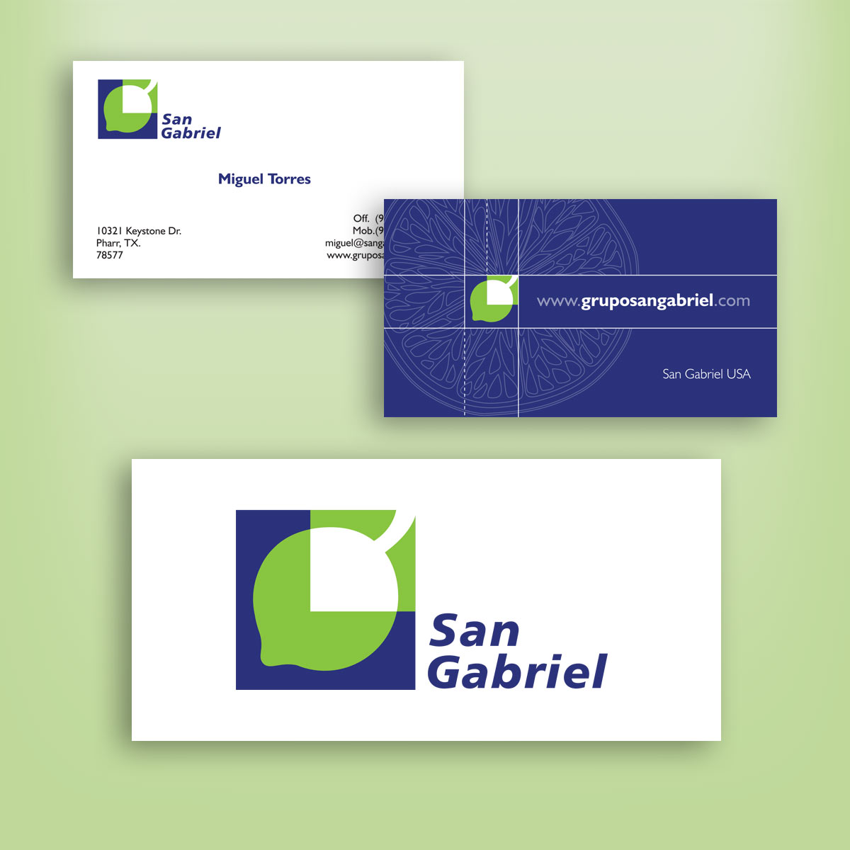 diseño de logotipo San Gabriel