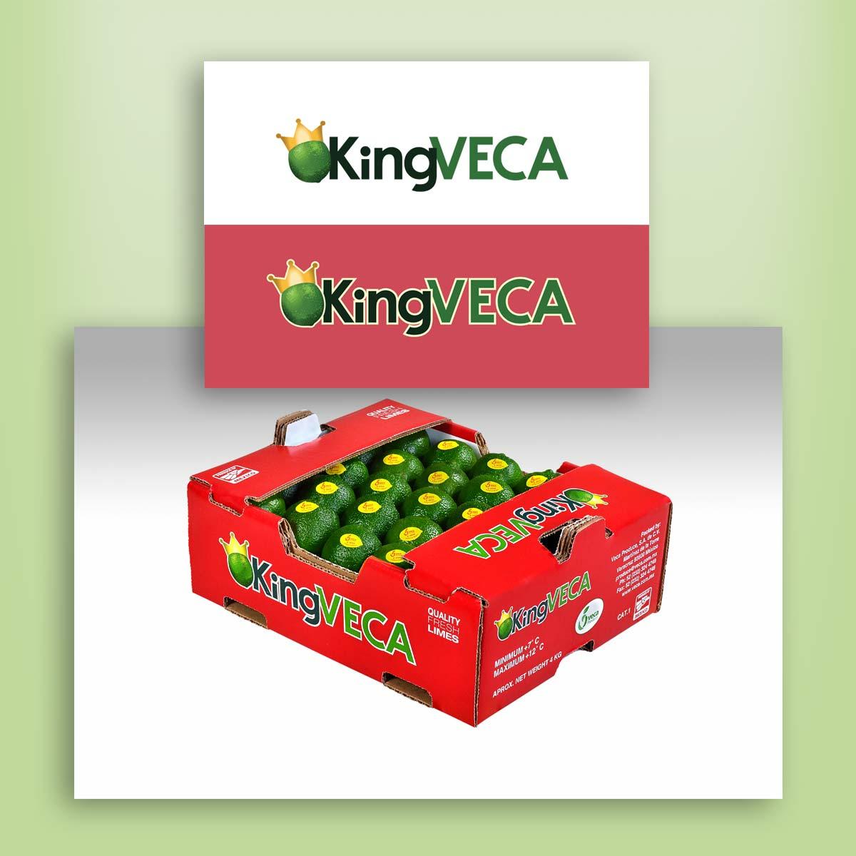 diseño de logotipo y empaque VECA