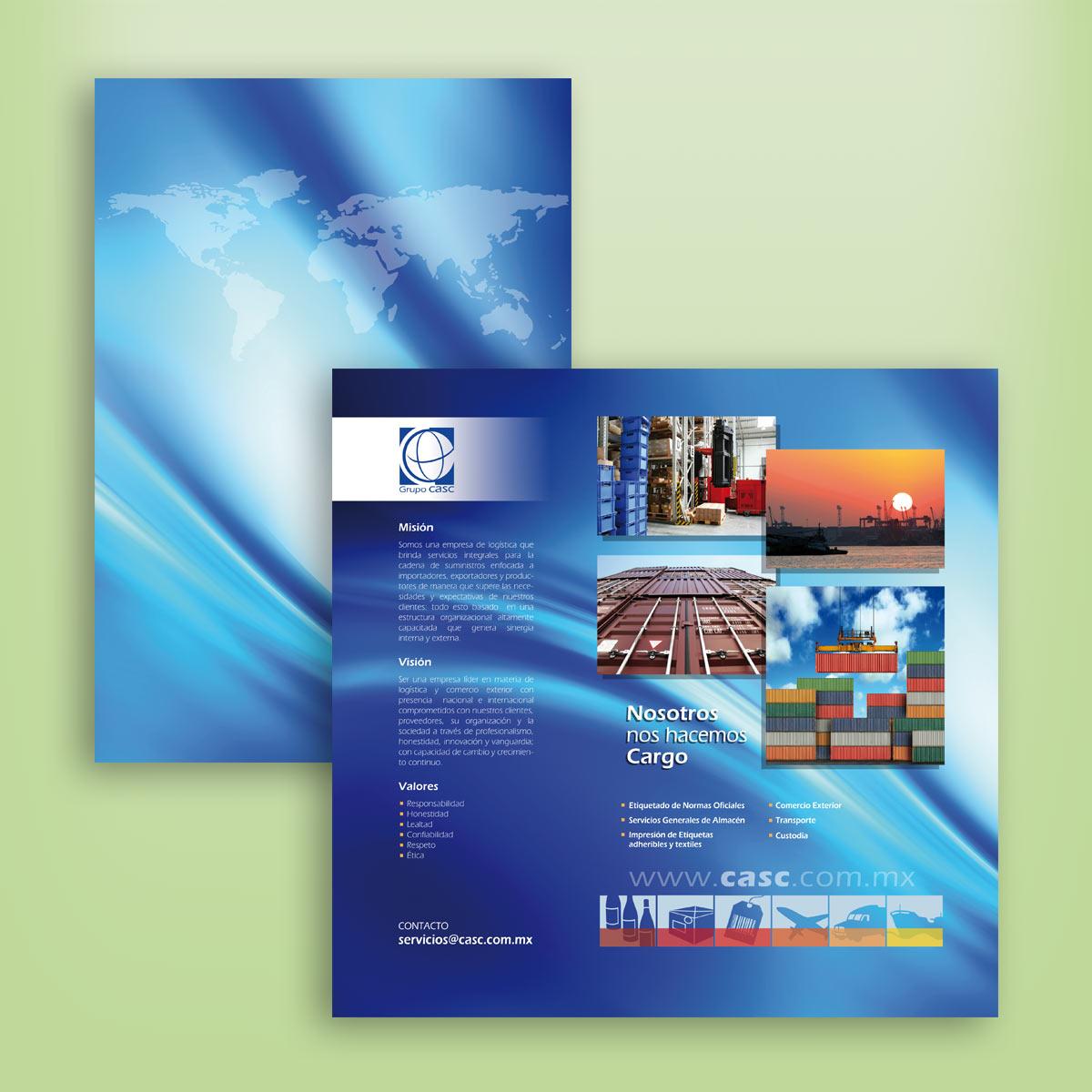 diseño de portadas CASC