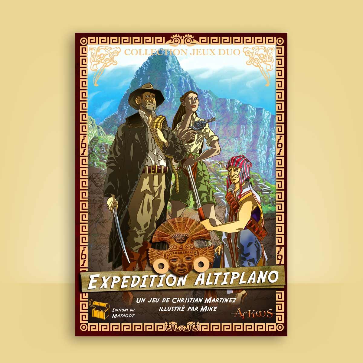 ilustración para juego Altiplano
