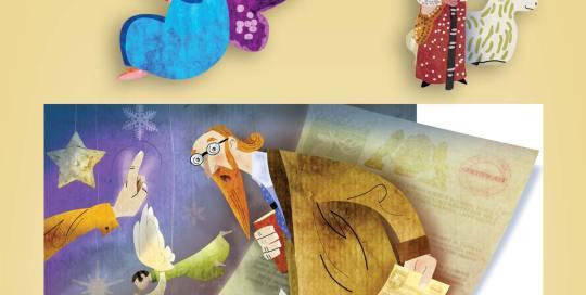 ilustración de personajes CIDCLI
