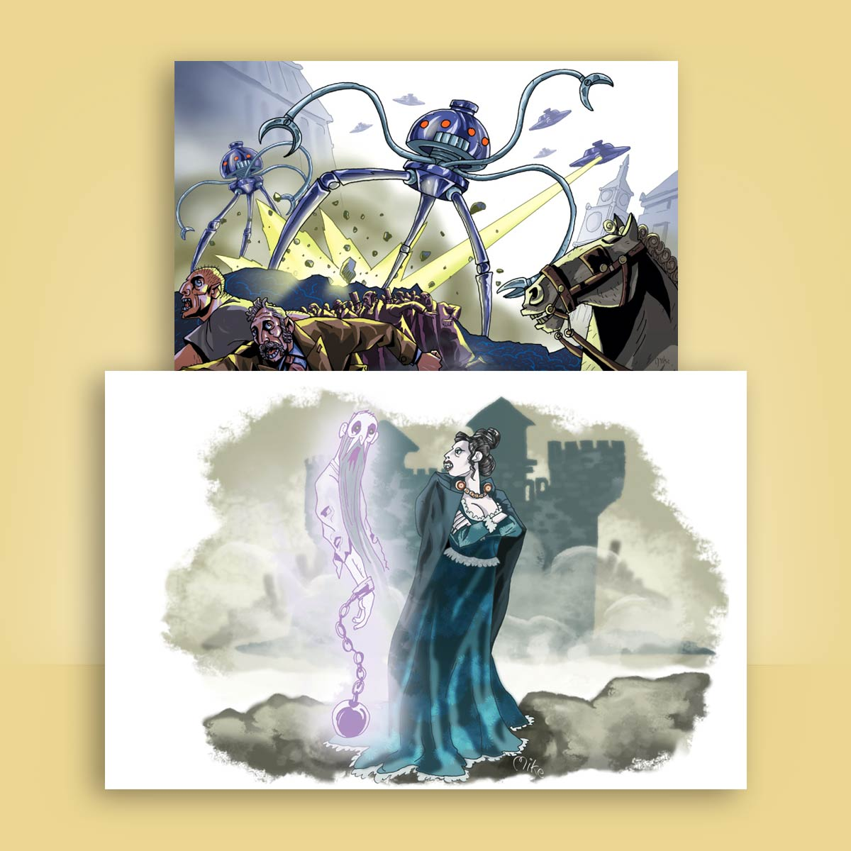 ilustración editorial Nuevo México
