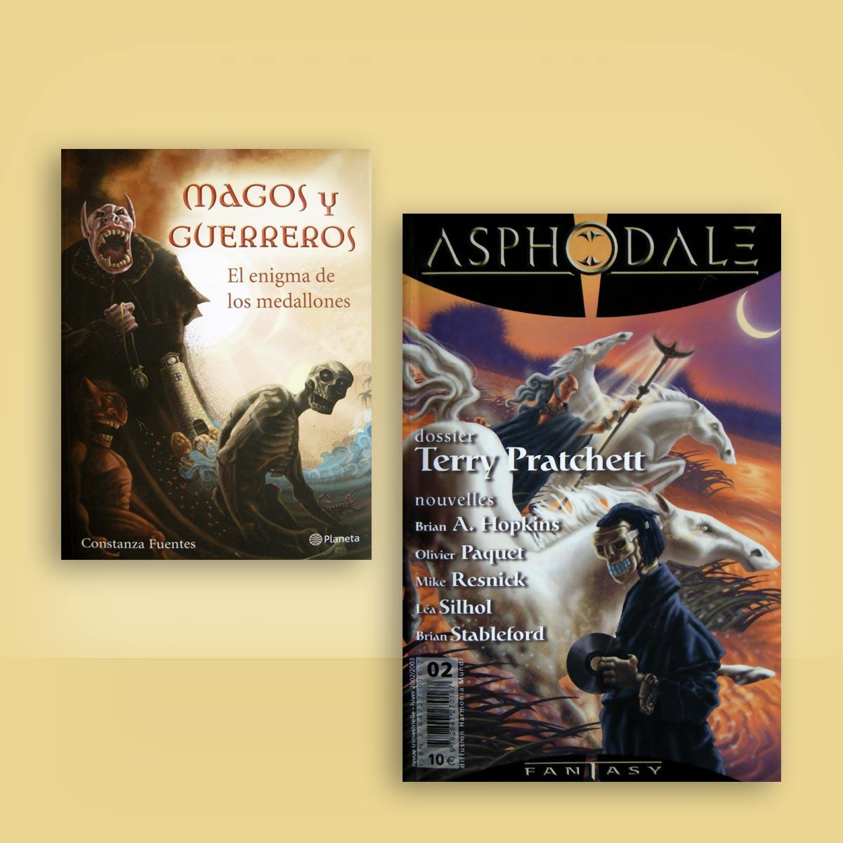 ilustración para portadas de novela