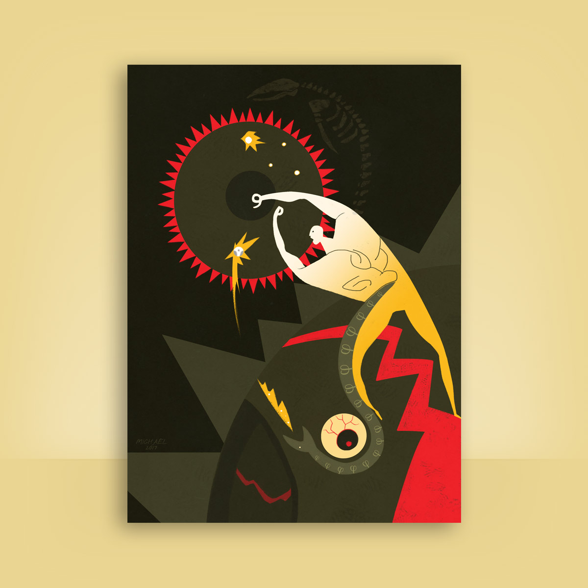 Ilustración Soleil Noir