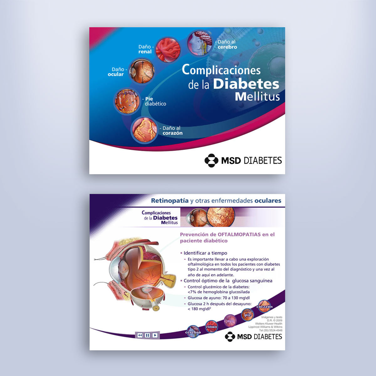 multimedia para cd de consulta MSD