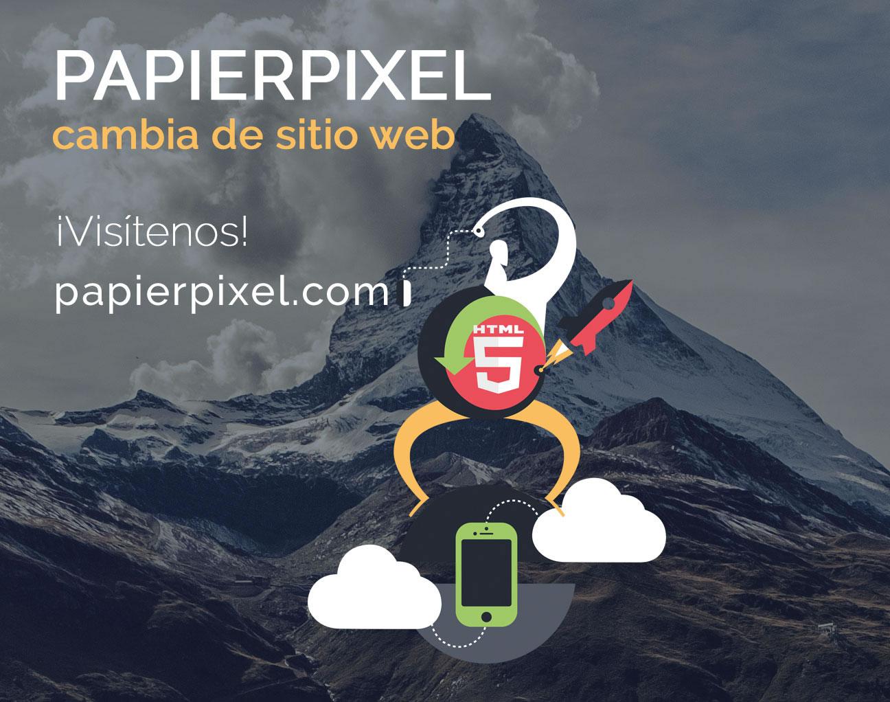 nuevo sitio web